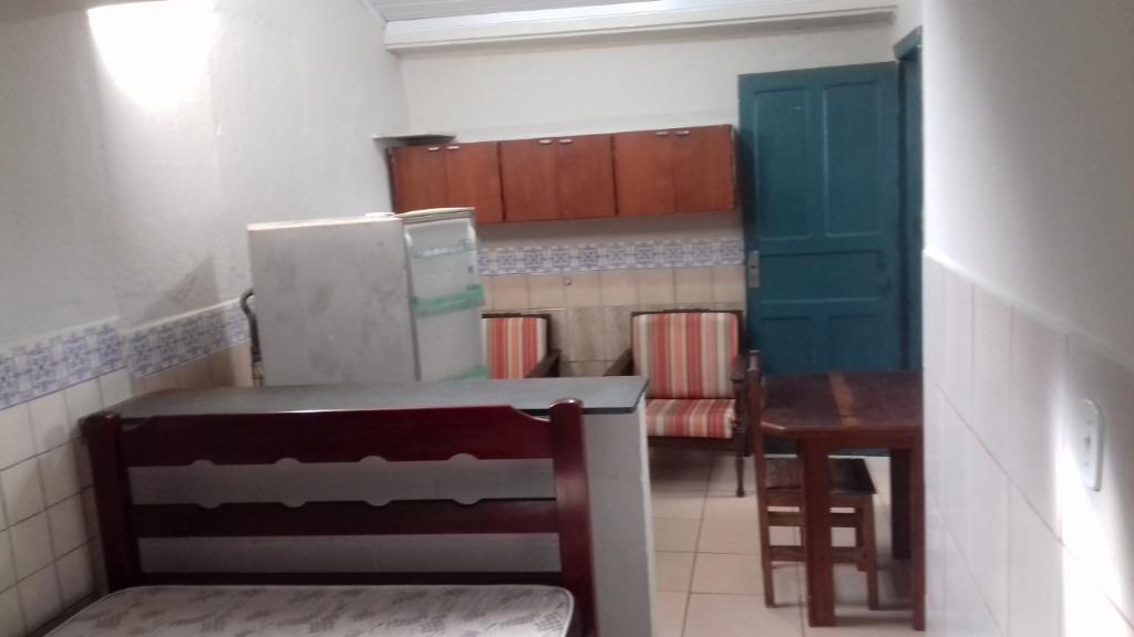 Kitnet com 1 dormitório para alugar, 1 m² por R$ 600/mês - Praia dos Sonhos - Itanhaém/SP
