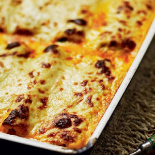 Chicken, Goat's Cheese And Wild Garlic Cannelloni