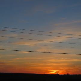 Sun set by Azurite Malachite - Novices Only Landscapes ( sunset )