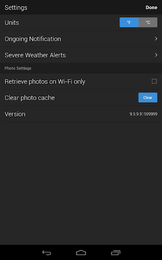 Yahoo Weather screenshot 16