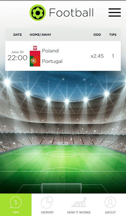Revengebet - sport forecasts Screenshot 0