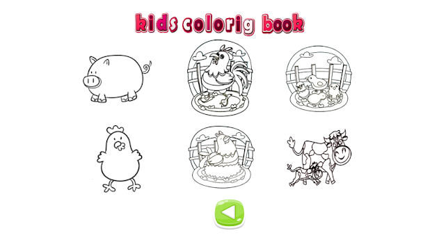 Kids Coloring Book Animal Farm Apk Screenshot