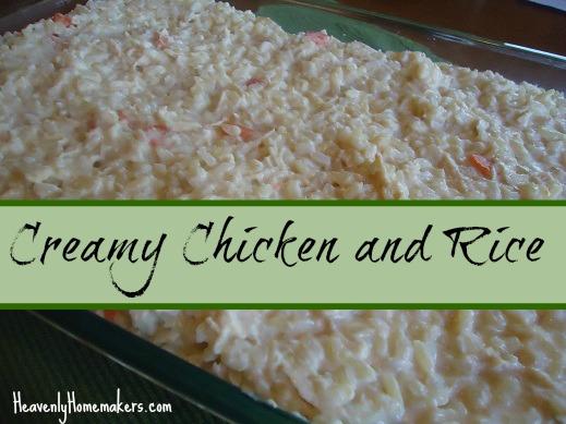 Creamy Chicken and Rice Casserole (with no cream soups!) Recipe ...