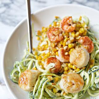 Shrimp Scallops Zucchini Recipes