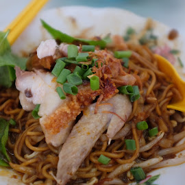 Chicken Dry Curry Noodle by Beh Heng Long - Food & Drink Plated Food ( malaysian food )