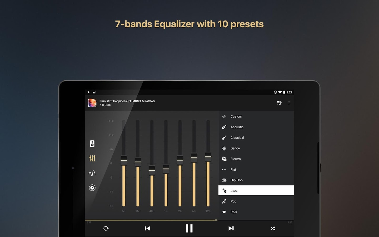 Equalizer music player booster Screenshot 19