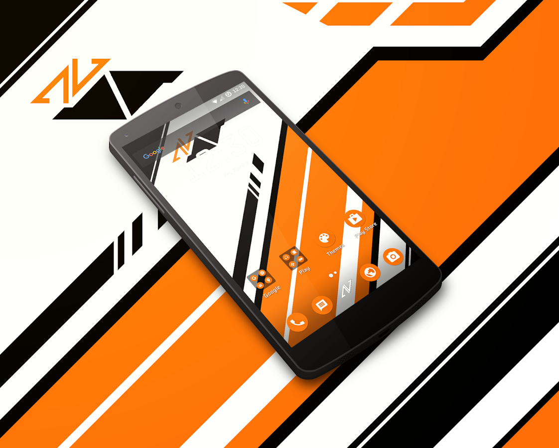 Asiimov CM13 CM12 Theme Screenshot 0