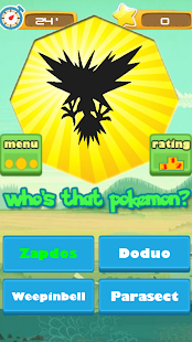 Game: Who's that pokemon?- screenshot thumbnail