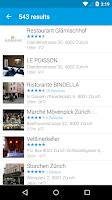 Screenshot of Swiss Phone Book