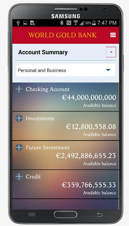 Fake Bank Check/Cheque Pro Screenshot 1