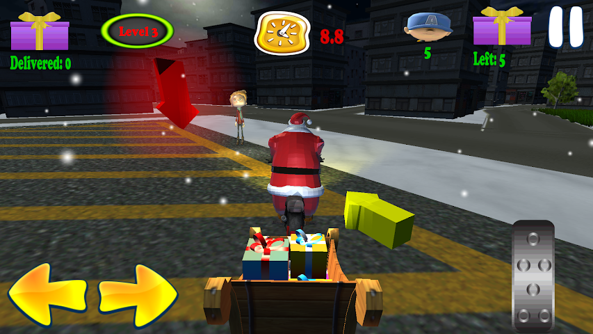 android Santa Rider Screenshot 2