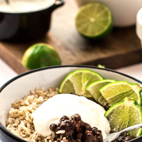 20 Minute Cuban Black Beans and Rice