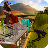 City Zoo Dino Transport Truck APK for Ubuntu