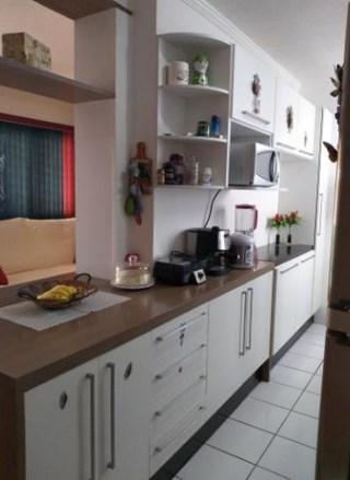 Apartamento com 3 dormitórios à venda, 70 m² - Villa Flora - Sumaré/SP