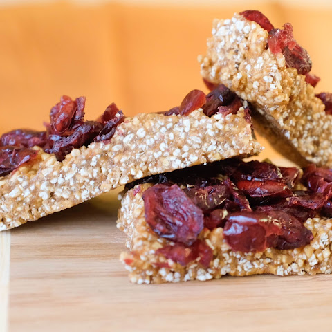 5 Ingredient Granola Bars with Dates, Almond Butter and Steel-Cut Oats