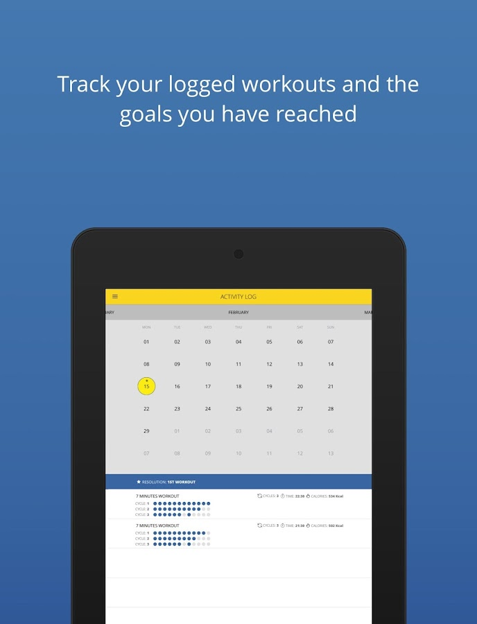 P4P 7 Minute Workout PRO Screenshot 11