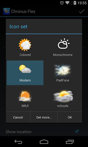 Chronus: Modern Weather Icons screenshot 2
