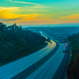 805 north and 805 south  by Roman Gomez - Landscapes Travel ( romangomez, romansgallery )