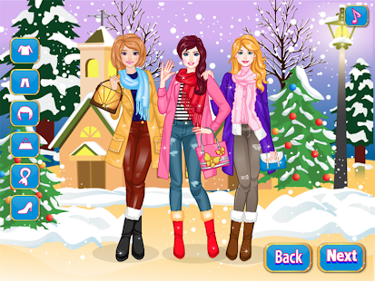 Game Winter DressUp APK for Kindle