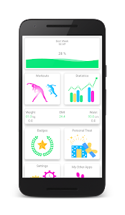 Home Workouts - Bodyweight Fitness Exercises Fitness app screenshot for Android