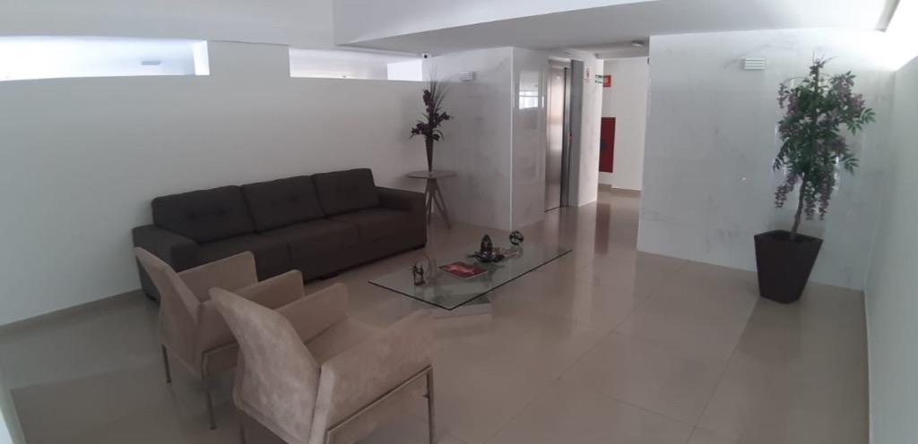Apartamento com 2 dormitórios e 1 escritório para alugar, 90 m² por R$ 1.232/mês - Manaíra - João Pessoa/PB