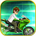 Game Ben Alien Rider Motor Fire APK for Windows Phone