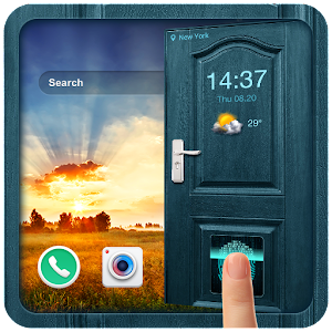 Download free 2018 Door Lockscreen with Fingerprint Prank for PC on Windows and Mac