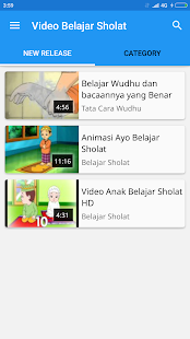 Video Belajar Sholat - screenshot