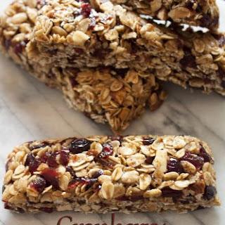 Cranberry Spice Granola Bars Recipes