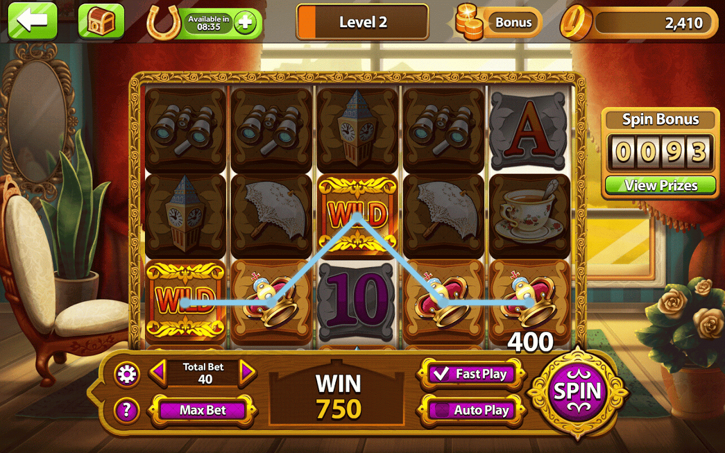 Simple Slots Casino Screenshot 1