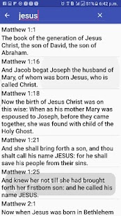 KJV Bible Free - screenshot