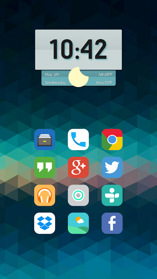 Matte UI Icon Pack Screenshot 1