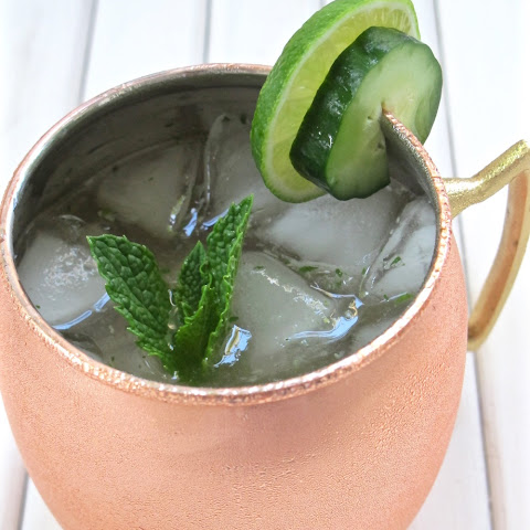 Spicy Jalapeno Mint Moscow Mule