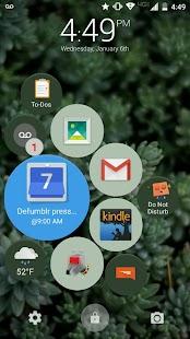 Defumblr Smart Lock Screen Screenshot