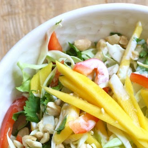 Mango Slaw with Creamy Coconut-Lime Dressing