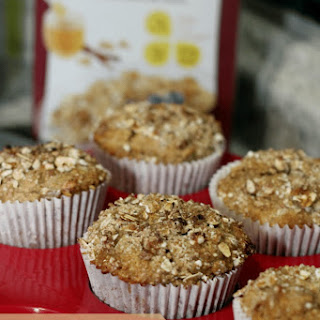 Honey Cinnamon Oat Bran Muffins