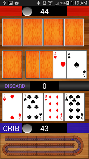 Grandpas Cribbage - screenshot