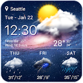 live weather widget accurate icon