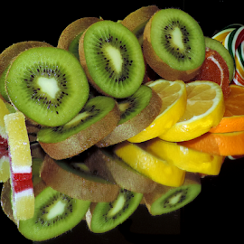 fruits with candys by LADOCKi Elvira - Food & Drink Fruits & Vegetables ( fruits )
