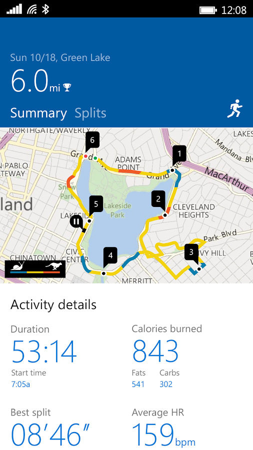 Microsoft Band Screenshot 2