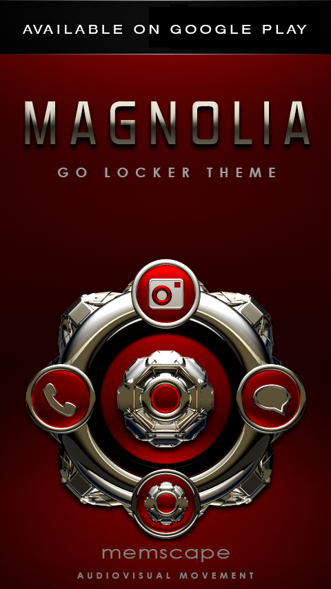 MAGNOLIA Next Launcher Theme Screenshot 7