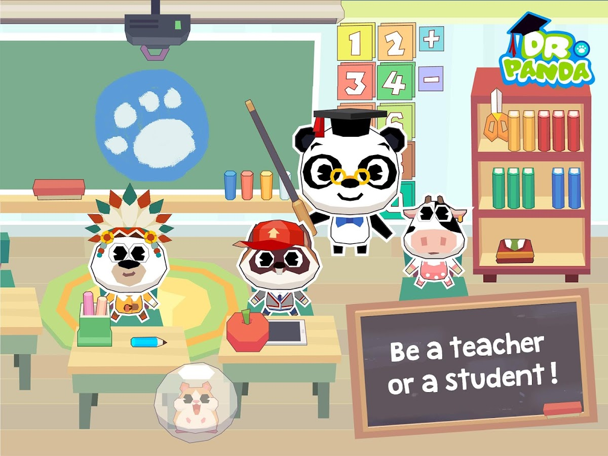 Dr. Panda School Screenshot 1