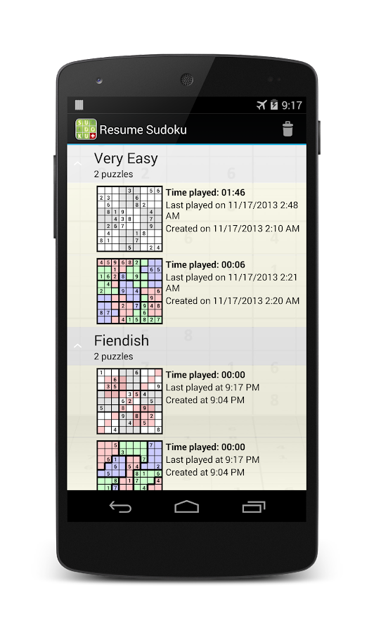 Sudoku 4ever Plus Screenshot 1