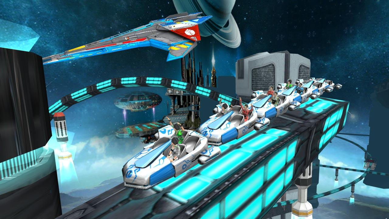 Roller Coaster Simulator Space Screenshot 3