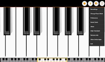 Screenshot of Mini Piano Lite