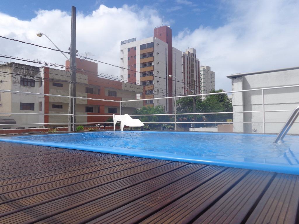 Apartamento com 2 dormitórios para alugar, 60 m² por R$ 1.300,00/mês - Manaíra - João Pessoa/PB