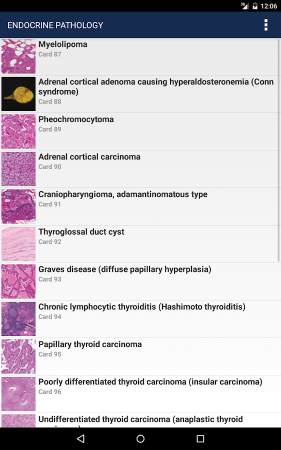 Anatomic Pathology Flashcards Screenshot 18