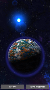3D Space Planets LWP v1.3 APK
