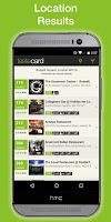 Screenshot of tastecard Restaurant Discounts
