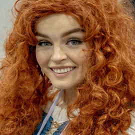 Brave Cosplay by Joshua Carelli - People Portraits of Women ( cosplay, beautiful, disney, brave, comic con, costume )